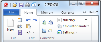 Office 2010 Calculator