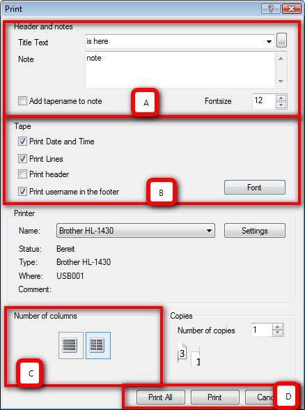 Printing Desktop Calculator for Windows : Printing Calculator Program